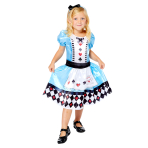 Alice Sustainable Costume - Age 8-10 Years - 1 PC