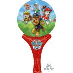 "Paw Patrol Inflate-a-Fun Foil Balloons 6""/15cm w x 12""/30cm h- A05"