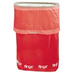 Apple Red Fling Bins - 5 PKG