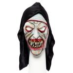 Zombie Nun Full Head Mask - 1 PC