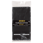 Black Paper Tablecovers 1.37m x 2.74m - 6 PC