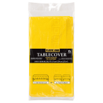 Sunshine Yellow Paper Tablecovers 1.37m x 2.74m - 6 PC
