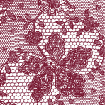 Red Lace Luncheon Napkins- 10 PKG/20