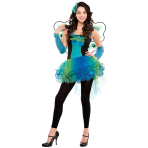 Teens Peacock Diva Costume - Age 12-14 Years