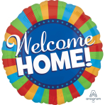 Welcome Home Blitz Jumbo Foil Balloons P32 - 5 PC