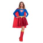 Supergirl Classic Costume - Size 8-10 - 1 PC