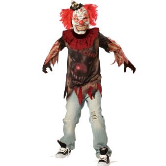 Teens Sideshow Clown - Age 10-12 Years - 1 PC