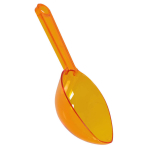 Candy Buffet Plastic Scoop Orange 16.5cm - 24 PKG