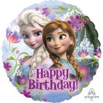 Frozen Happy Birthday Standard Foil Balloons - S60 5 PC