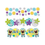 SpongeBob 3 Packs Confetti - 34g - 10 PKG/3
