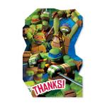 Teenage Mutant Ninja Turtles Thank You Postcards  - 6 PKG/8