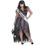 Homecoming Corpse Costume - Plus Size- 1 PC