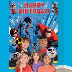 The Incredibles 2 Wall Decoration Kits with Props - 6 PKG/17
