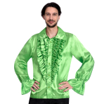 Satin Lime Shirt - Small Size - 1 PC