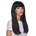 Black Long Hair Premium Wigs - 6 PC