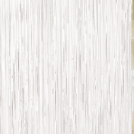 White Door Curtains 91cm x 2.43m - 6 PC