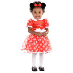 Disney Minnie Mouse Red Dress - Age 3-6 Months - 1 PC