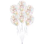 "Confetti Assorted Latex Balloon Kits 11""/27.5cm - 6 PKG/6"