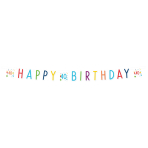Confetti Birthday 40th Birthday Letter Banners 1.8m - 10 PC