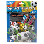 Championship Soccer Mega Mix Value Favour Packs  - 6 PKG/48