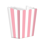 Candy Buffet Popcorn Treat Boxes Light Pink - 24 PKG/5