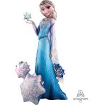 """Frozen AirWalkers Elsa the Snow Queen Foil Balloons  35""""/88cm w x 57""""/144cm h - P93 5 PC"""