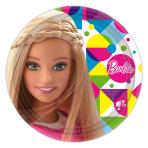 Barbie Sparkle Paper Plates 23cm - 6 PKG/8