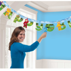 Teletubbies Add-an-Age Letter Banners 1.7m x 14cm - 6 PC