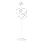 Heart Table Card Holders - 12 PC