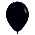 "Fashion Colour Solid Black 080 Latex Balloons 5""/13cm - 100 PC"