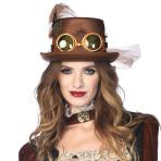 Steampunk Concertina Top-Hats - 6 PC