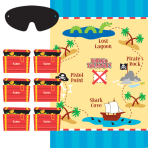 Pirate Party Games - 6 PKG/4
