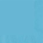 Caribbean Blue Dinner Napkins 40cm 3ply - 12 PKG/20