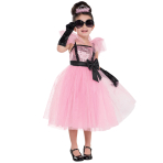 Girls Glam Princess Tutu Costume - Age 4-6 Years - 1 PC