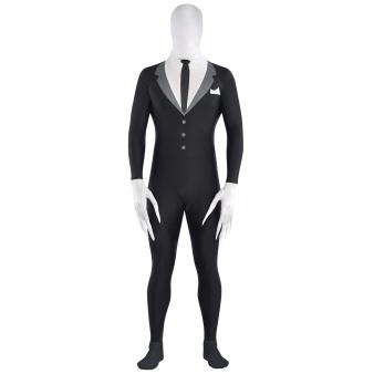 Adults Slender Man Party Suit Costume - Size M - 1 PC