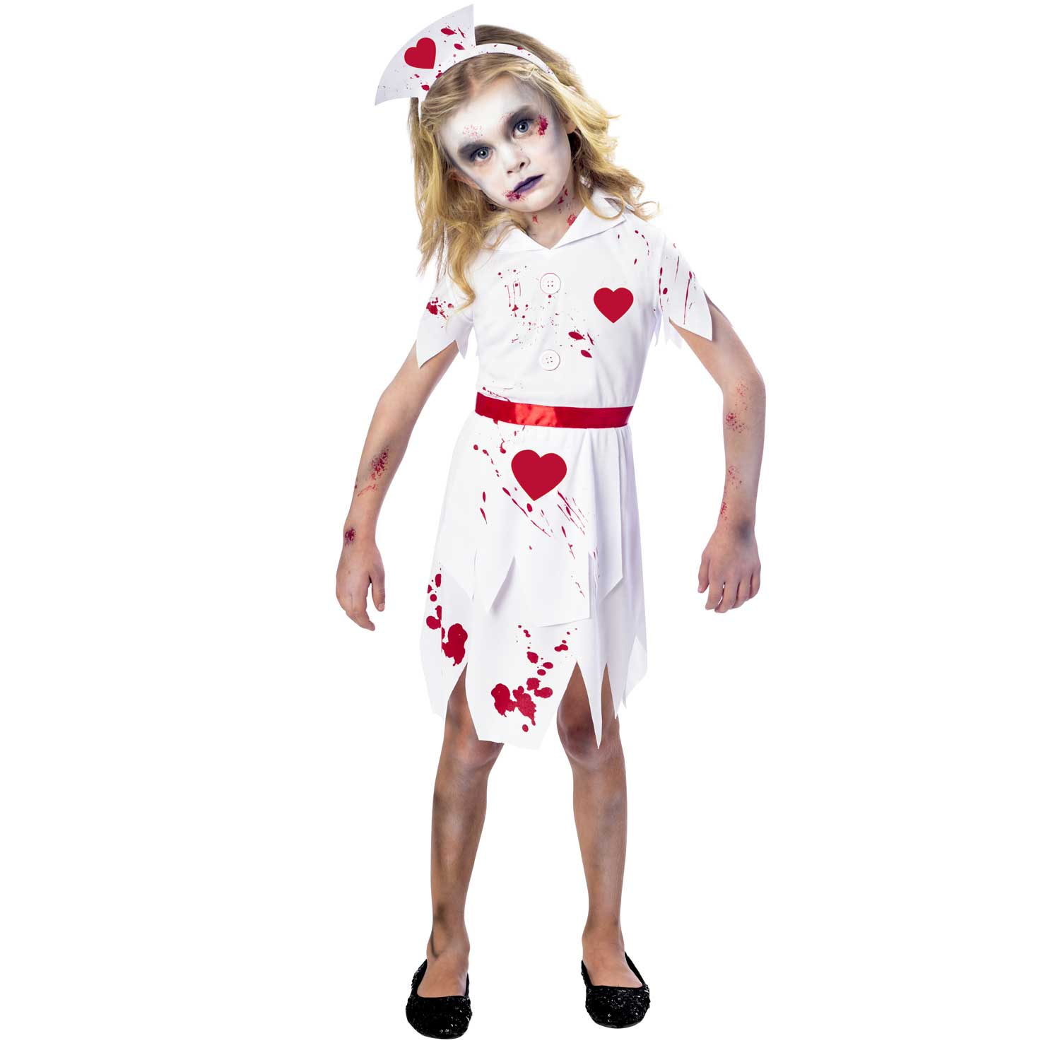 zombie nurse costume - age 11-12 years - 1 pc : amscan international