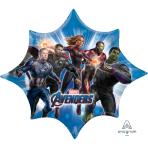 """Avengers Endgame SuperShape Foil Balloons 35""""/88cm w x 29""""/73cm h P38 - 5 PC"""
