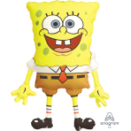 "SpongeBob SquarePants SuperShape Foil Balloons 22""/56cm w x 28""/71cm h P35 - 5 PC"