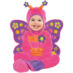 Baby Flutterby Butterfly Costume - Age 6-12 Months - 1 PC
