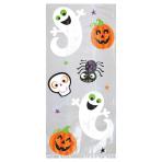 Pumpkins & Ghosts Large Cello Bags 29cm x 13cm x 7cm - 12 PKG/20