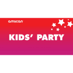 Kids Party Point of Sale 2ft/61cm x 1ft/30cm - 1 PC