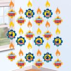 Fireman Sam String Decorations 2m - 10 PKG/6