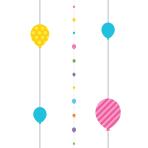 Brights Balloon Fun Strings 1.82m - 6 PC