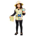 Peppa Pig Explorer Costume - Age 4-6 Years - 1 PC