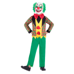 Halloween Hollywood Clown Costume - Age 7-8 Years - 1 PC