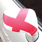 England Flag Car Wing Mirror Covers - 6 PKG/2