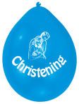 Christening Blue Latex Balloons - 22.8cm 6 PKG/10
