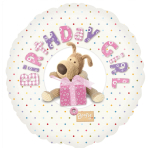 Boofle Happy Birthday Pink Standard Foil Balloon - S60 5 PC