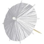 Silver Parasol Picks - 6 PKG/120