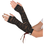 Witch Doctor Fingerless Gloves - 6 PC